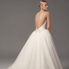 Strapless Ball Gown In Lace Wedding Dress